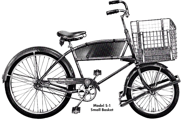 1951 schwinn cycle-truck