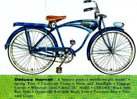 af9edf69fa0 The Schwinn Deluxe Hornet 1959 schwinn deluxe hornet