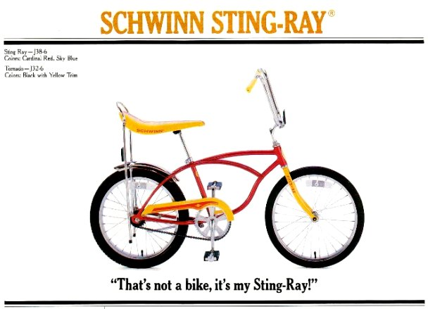 fb02d171339 The Schwinn Stingray | 1963 to 1981