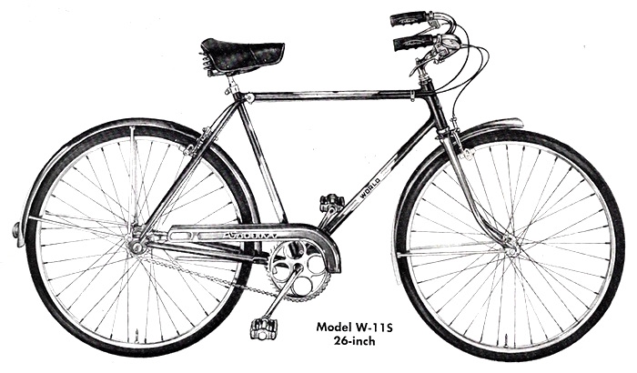 The Schwinn Varsity | 1951 to 1986