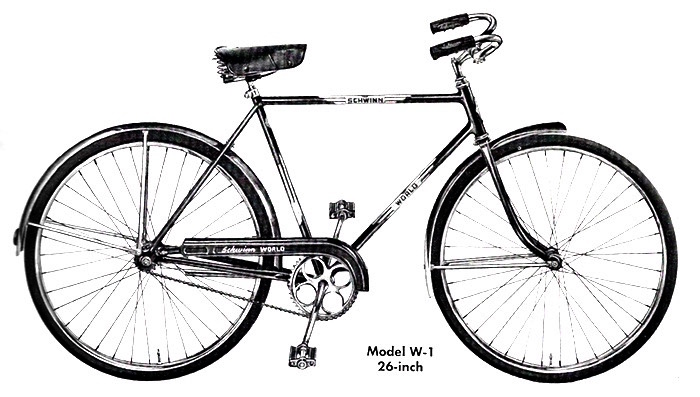 1951 schwinn world