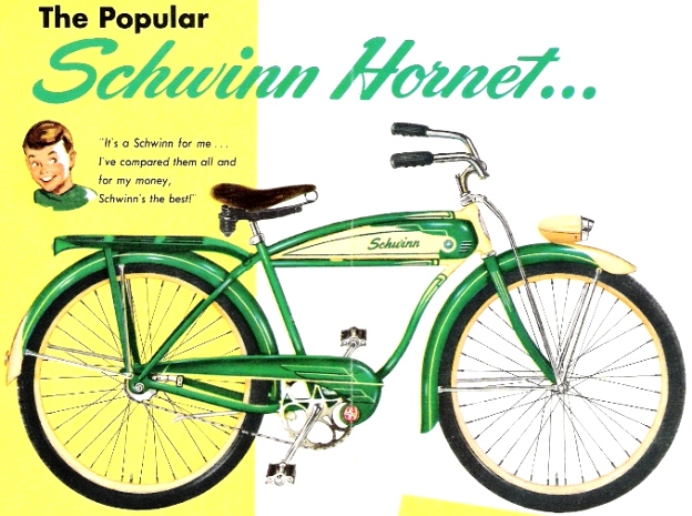 1953 schwinn hornet for boys
