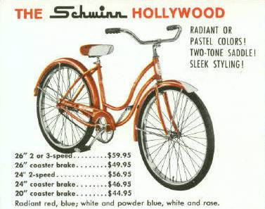 68430c24ae4 The Schwinn Hollywood | 1938 to 1982