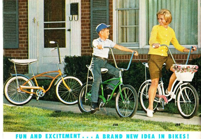 34361af19a6 It was the mid 1960's in Chicago and something big was on the horizon. It  hit us fast and hard. Back then, Schwinn Sting-Rays and Krate bikes invaded  the ...