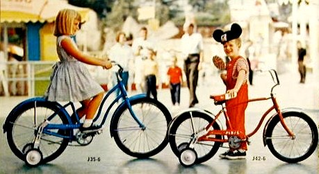 1966 Schwinn bantam and pixie