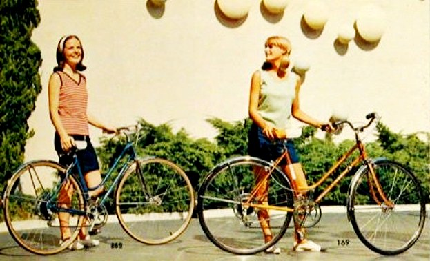 1966 Schwinn super sports and varsity tourist