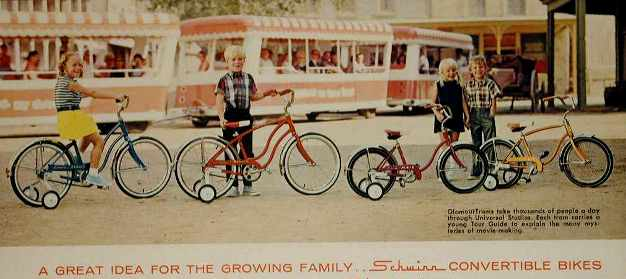 1967 schwinn bantam and pixie