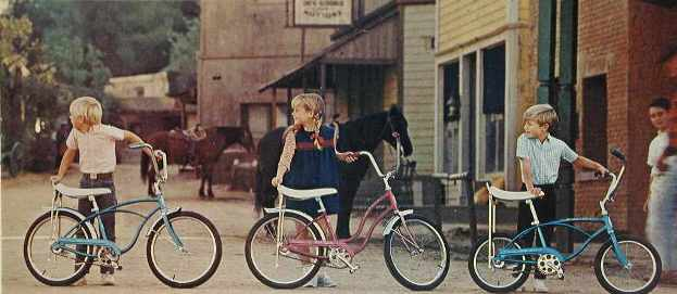 1967 schwinn junior stingray, lil chik and midget stingray