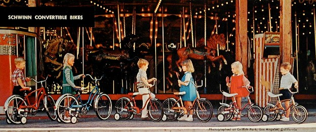 1968 schwinn bantam, pixie and lil tiger