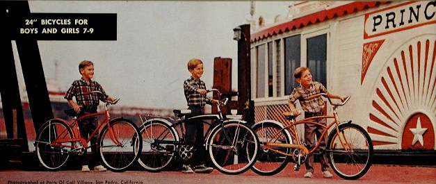 1968 schwinn speedster, fleet and typhoon