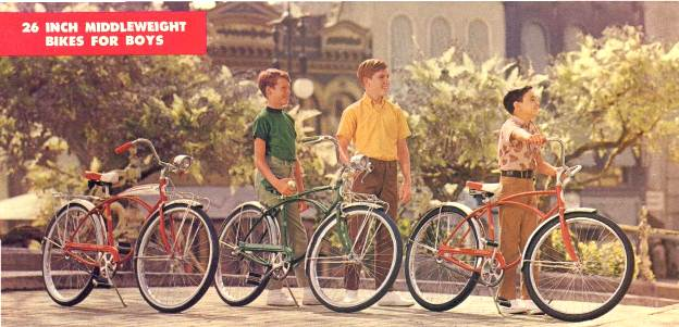 1968 schwinn panther, deluxe typhoon and typhoon