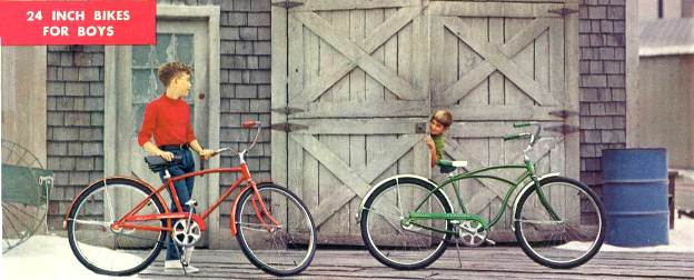 1968 schwinn speedster and typhoon