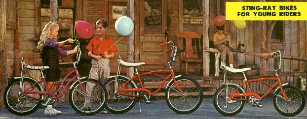 1970 schwinn lil' chik, junior stingray and midget stingray