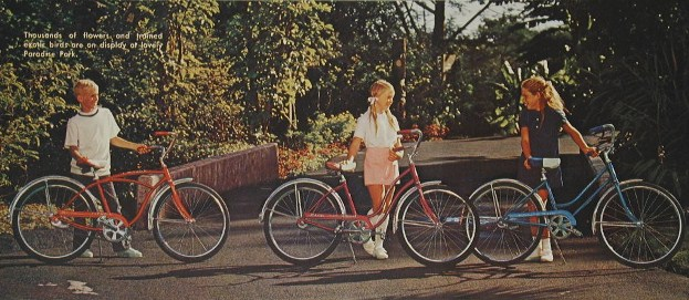 1971 schwinn typhoon, hollywood and breeze