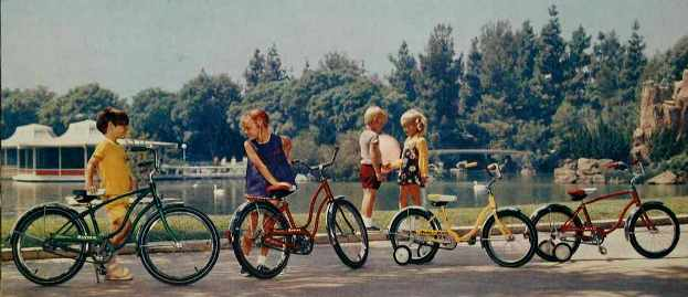 1972 schwinn bantam and pixie