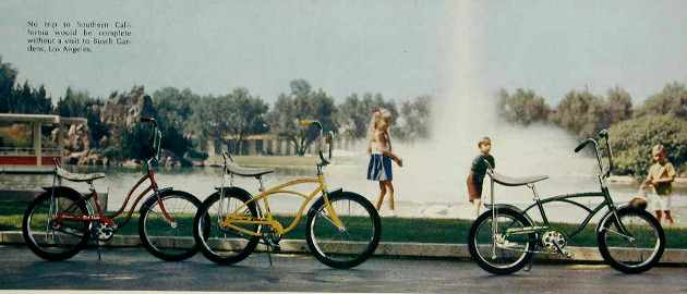 1972 schwinn lil chik, junior stingray and midget stingray