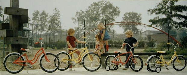 1973 schwinn bantam and pixie