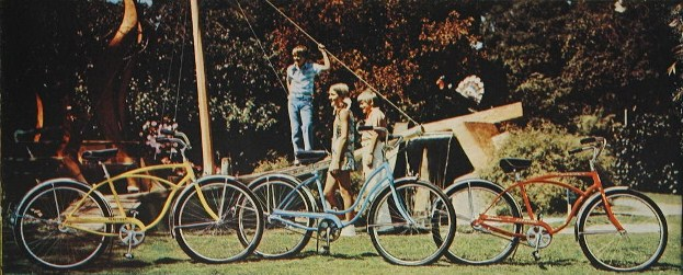 1974 schwinn heavy duti, hollywood and typhoon 26