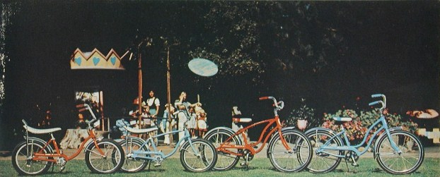 1974 schwinn stingray and bantam