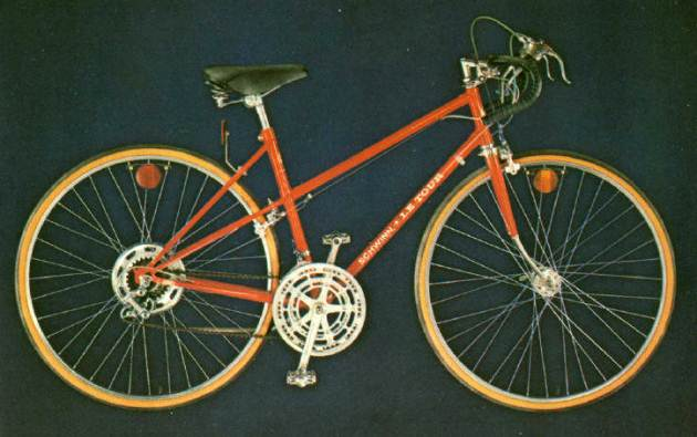 1975 schwinn approved le tour for girls