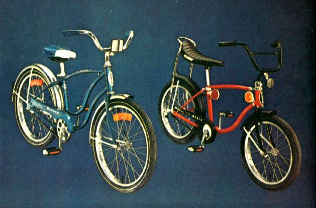 1975 schwinn convertible bantam and super pixie
