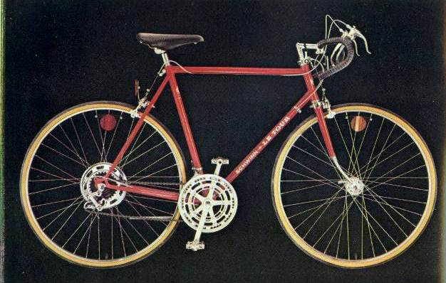 1976 schwinn approved le tour