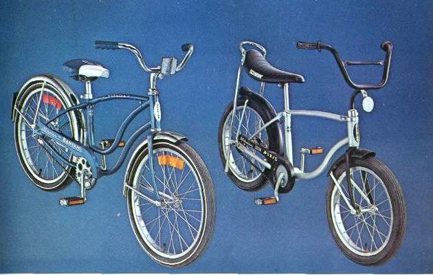 1976 schwinn convetible bantam and super pixie