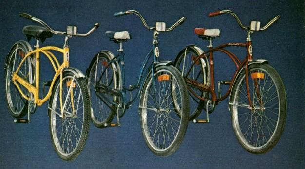1976 schwinn heavy duti hollywood and typhoon