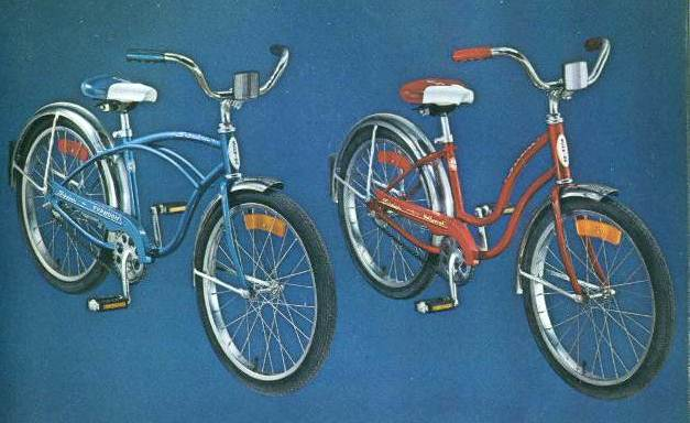 1976 schwinn tyhpoon and hollywood 20 inch