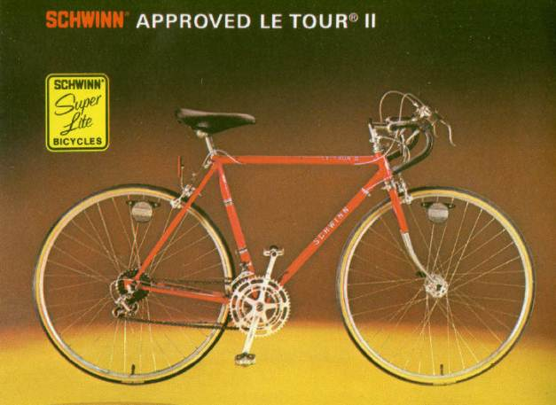 1977 schwinn approved le tour 2