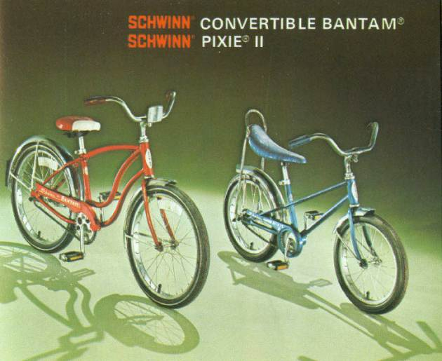 1977 schwinn convertible bantam and pixie 2