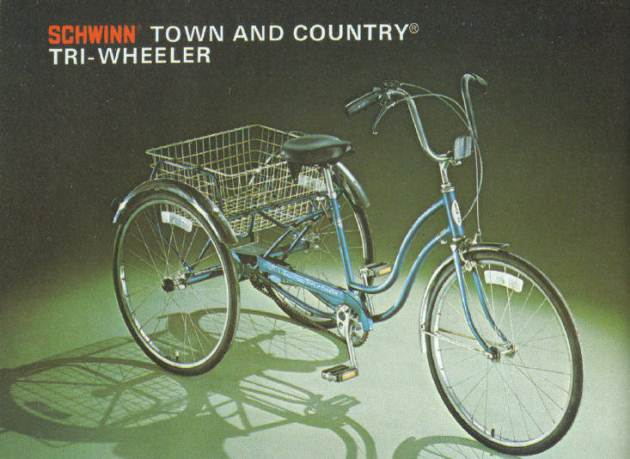 b7c1452326e The Schwinn Town and Country | 1968 to 1982