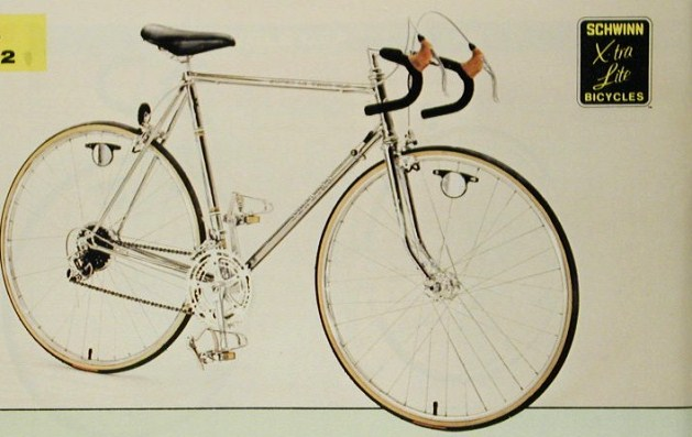 1978 schwinn approved super le tour