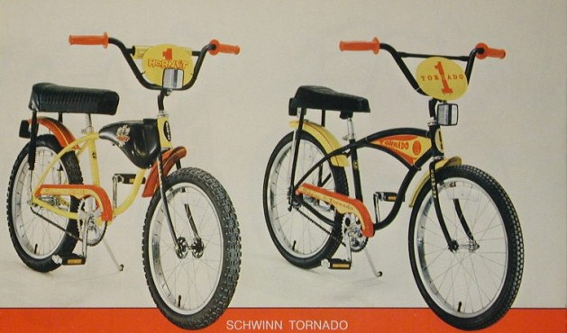 1978 schwinn hornet and tornado