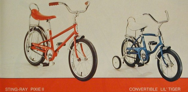 cdd7bf89778 1978 schwinn stingray pixie and convertible lil tiger
