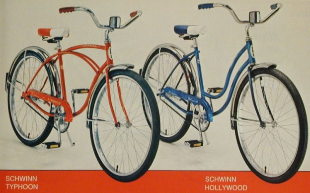1978 schwinn typhoon and hollywood
