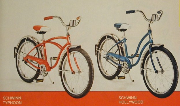 1978 schwinn typhoon and hollywood 20