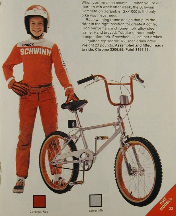 The Schwinn Scrambler | 1975 to 1988