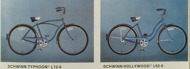 1979 schwinn typhoon and hollywood