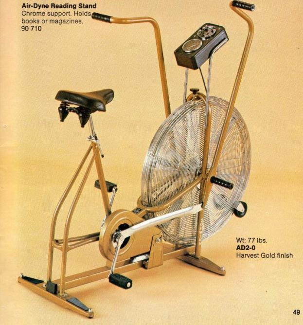 287e12039ac Schwinn Air Dyne ergoMetric Exerciser