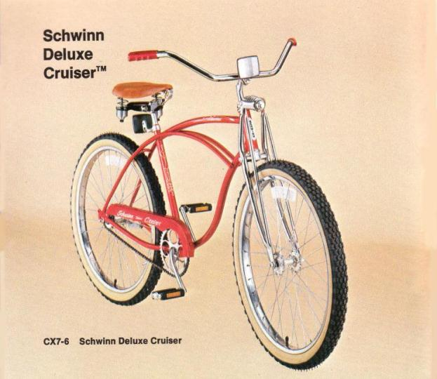 8aa5fd7bb62 In 1995 Schwinn released the Phantom again with the springer fork for their 100th  anniversary, and a few Deluxe Cruiser models were released with a springer  ...