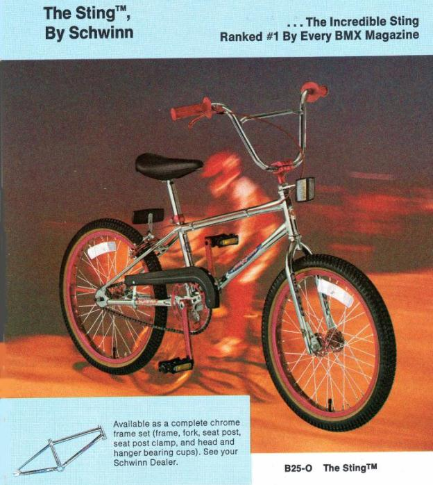 Schwinn Stingray Parts Catalog : The schwinn sting to