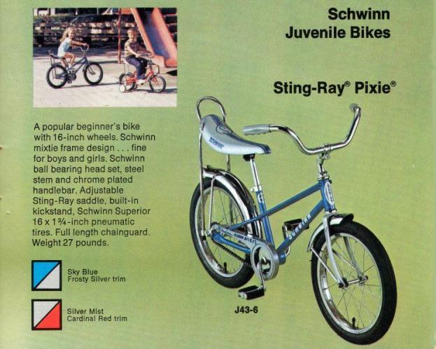 3df13fa2892 Schwinn Sting-Ray Pixie