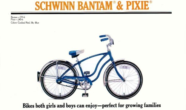 Boys 20 Inch Bike >> The Schwinn Bantam | 1951 to 1985