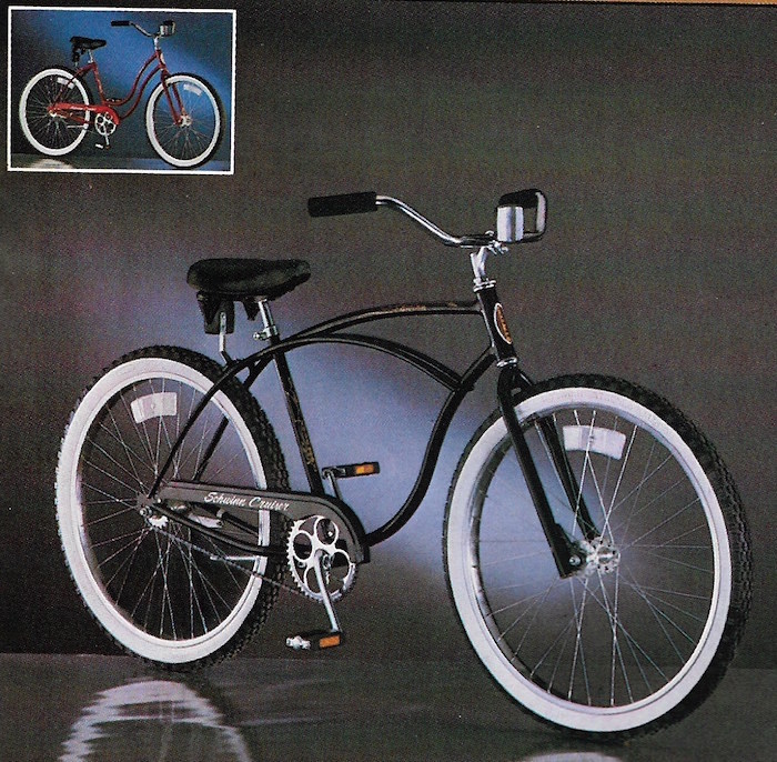 the schwinn cruiser 1980 to 1984 rh bikehistory org