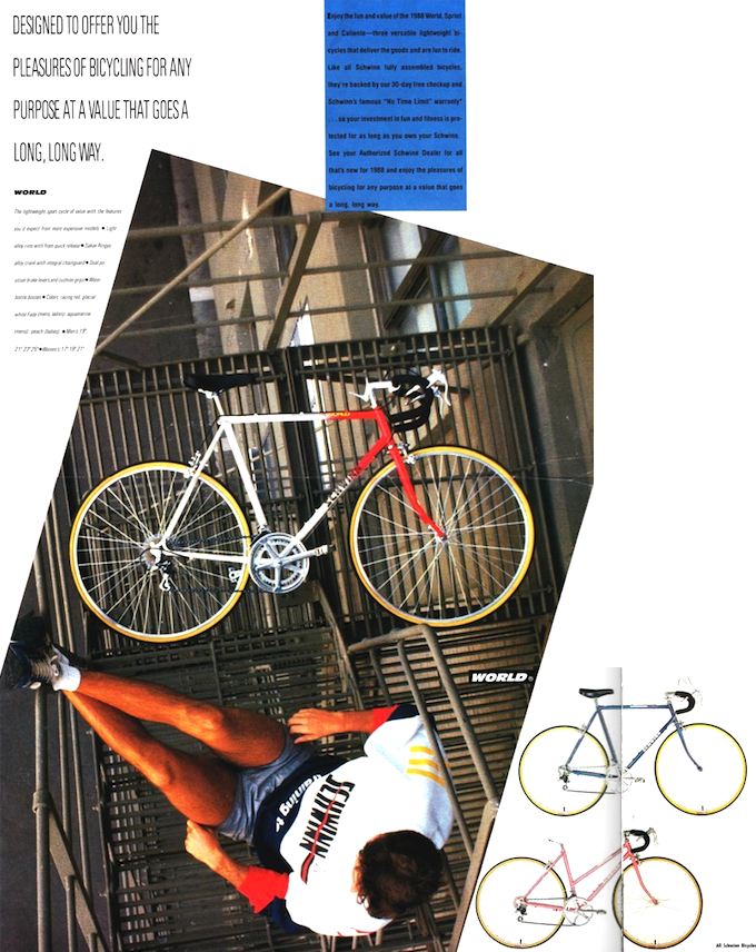 1988 schwinn world