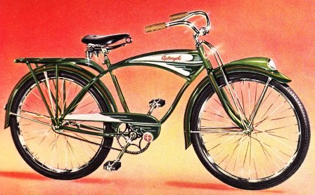Bikes 1940s s streamlined autocycle